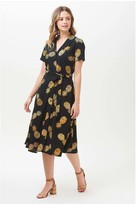 Sugarhill - Kendra Pineapple Batik Shirt Dress - 16