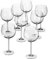 CB2 Set Of 8 Clarity Wine Glasses
