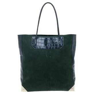 Alexander Wang Prisma Green Leather Handbags