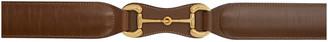 Gucci Brown Horsebit Belt