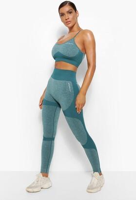 boohoo Fit Seamfree Contrast Gym Leggings