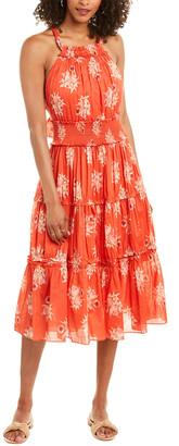 La Vie Rebecca Taylor Catrine Midi Dress
