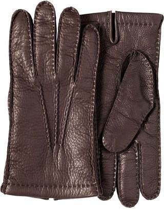 Prada Stitch-Detail Gloves