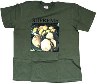 Supreme Khaki Cotton Tops