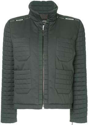 Chanel Pre-Owned zipped padded jacket