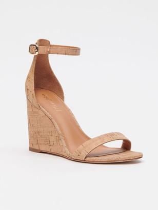 J.Mclaughlin Middleton Cork Wedge Sandals