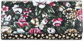 Alexander McQueen floral skull wallet - women - Leather - One Size