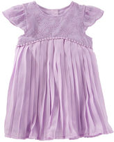Osh Kosh 2-Piece Pleated Chiffon Dress