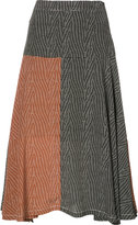 Derek Lam flared midi skirt - women - Silk - 36