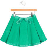 Little Marc Jacobs Girls' Corduroy Pleated Skirt