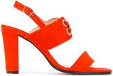 Tila March Ravello sling-back sandals - women - Leather/Goat Suede - 37