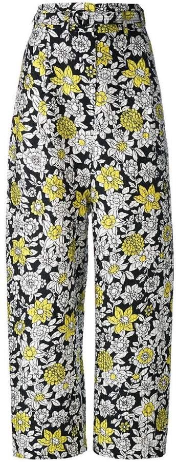 Christian Wijnants wide-leg trousers