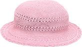 San Diego Hat Company Cotton Crochet Hat CHL9 (Girls')