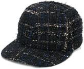 Maison Michel Hailey tweed cap