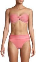Robin Piccone Twist-Front Bikini Top