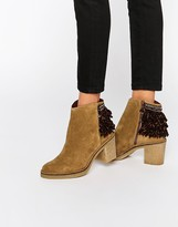 Miista Brianna Heeled Leather Ankle Boots