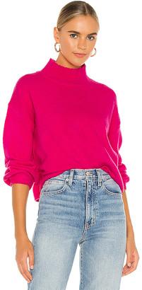 Line & Dot Julia Mock Neck Sweater