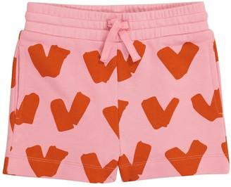Stella McCartney Kids Printed cotton shorts