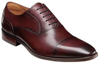 Florsheim Sorrento Cap Toe Oxford (Black Smooth) Men's Shoes