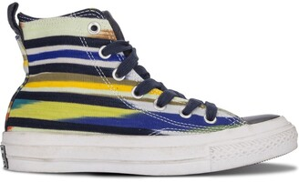 Converse Striped High-Top Sneakers