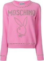 Moschino Playboy studded sweater