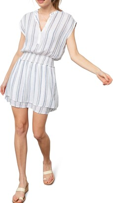 Rails Angelina Smocked Waist Minidress