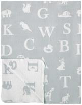 Cath Kidston Mono Animal Alphabet Baby Shawl