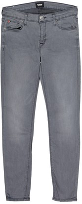 Hudson Grey Cotton - elasthane Jeans for Women