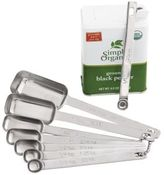 Chefs Rectangular Spice Measuring Spoons, Set of 8