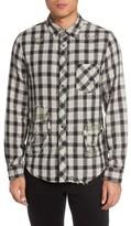 Hudson Men's Weston Slim Fit Check Sport Shirt