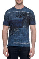 Robert Graham Delta Down Graphic Tee