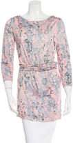 Emilio Pucci Marble Print Belted Top w/ Tags