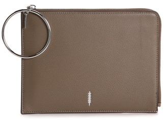 Thacker   Luxury Gable Leather Wristlet