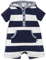 Offspring Boys' Striped Hooded Romper