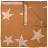 Stella McCartney star print scarf - women - Silk/Modal - One Size
