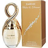 Bebe Wishes and Dreams Eau de Parfum Spray for Women, 3.4 Ounce