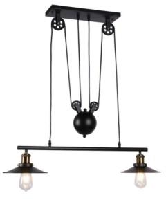 "Home Accessories Darleen 9"" 1-Light Indoor Pendant Lamp with Light Kit"