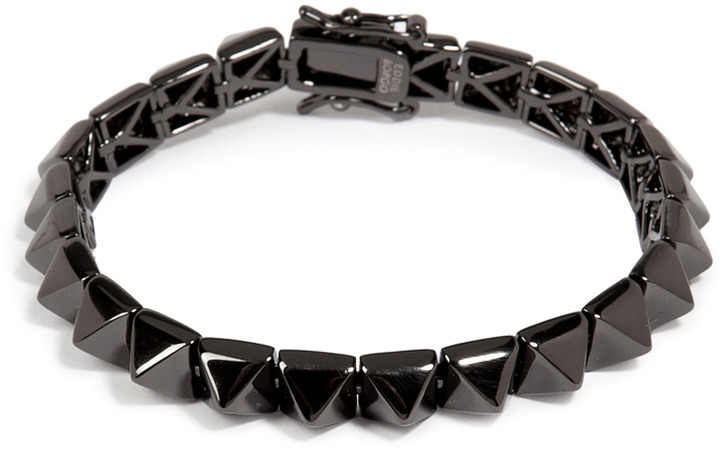 Eddie Borgo Small Pyramid Bracelet