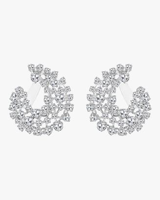 Morgan Ashley Arc Rose Cut Diamond Earrings