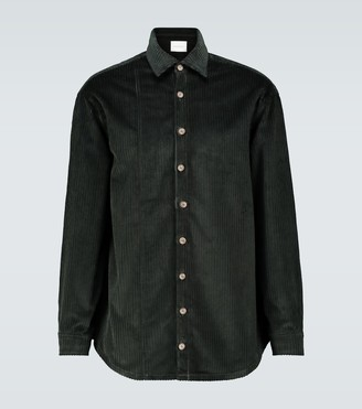 King And Tuckfield Oversized corduroy shirt