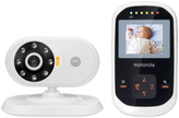 Motorola Black 2.4'' Smart Baby Monitor