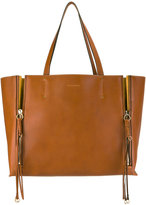 Chloé Milo tote bag - women - Cotton/Calf Leather/Suede/Calf Suede - One Size