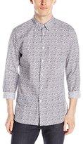 J. Lindeberg Men's Dani Dot Printed Button-Down Shirt