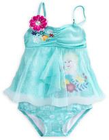 Disney Elsa Deluxe Swimsuit for Girls - 2-Piece