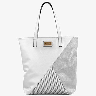 For Time Bluebags FORTIME - Bolso Fashion Madina Plateado Womens Shoulder Bag