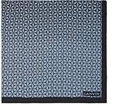 Lanvin Men's Star-Print Silk Pocket Square