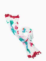 Kate Spade Hummingbird oblong scarf