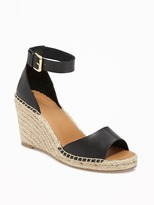 Old Navy Ankle-Strap Peep-Toe Espadrilles for Women