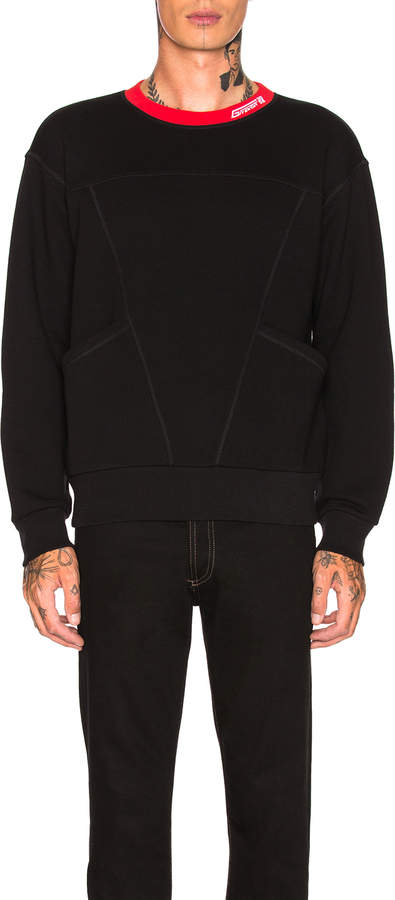 Givenchy Contrast Collar Sweatshirt
