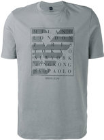 Armani Jeans city logo T-shirt - men - Cotton - XL